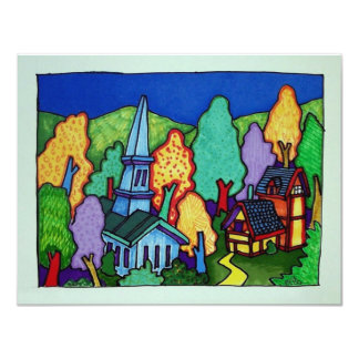Vermont  Life 33 by Piliero 4.25x5.5 Paper Invitation Card