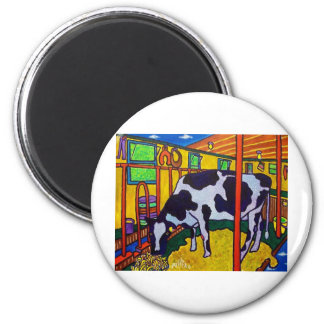 Vermont Life J 7 by Piliero 2 Inch Round Magnet