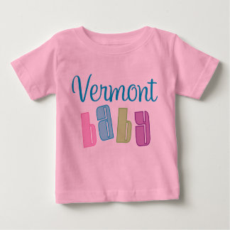 Vermont lindo embroma la camiseta camisas