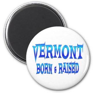 Vermont llevado y aumentado imán redondo 5 cm