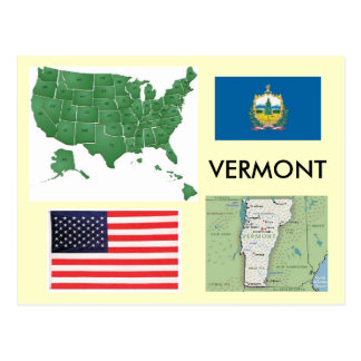 Vermont, los E.E.U.U. Postal
