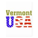 ¡Vermont los E.E.U.U.! Tarjetas Postales