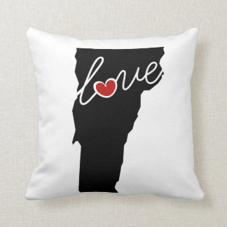 Vermont Love!  Gifts for VT Lovers Pillow