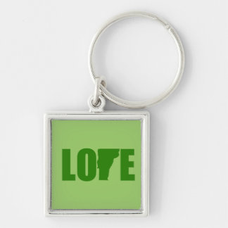 Vermont Love Keychain