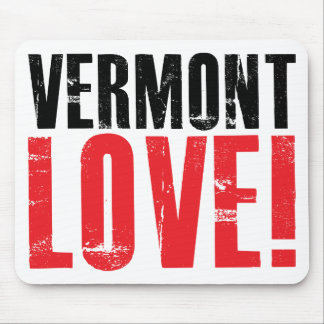 Vermont Love Mouse Pad