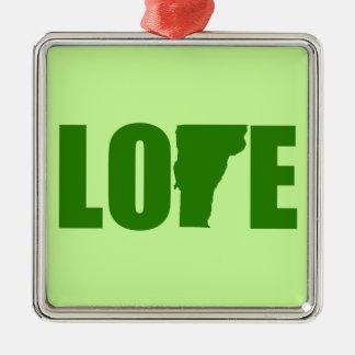 Vermont Love Ornament