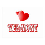 Vermont Love Postcard