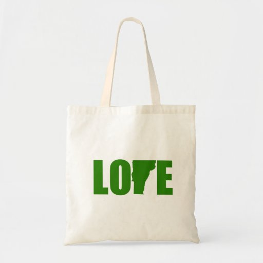 Vermont Love Tote Bags