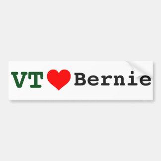 Vermont Loves Bernie Bumper Sticker