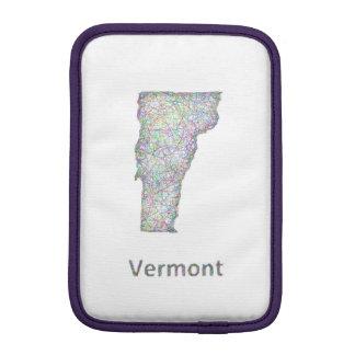 Vermont map sleeve for iPad mini