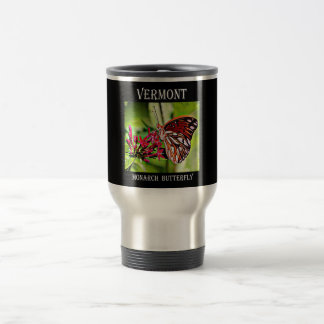 Vermont Monarch Butterfly Travel Mug