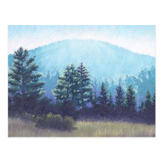 Vermont Mountain Landscape Postcard