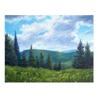 Vermont Mountain Postcard