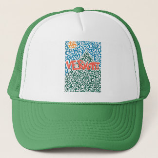 Vermont Mountain Swirl Trucker Hat