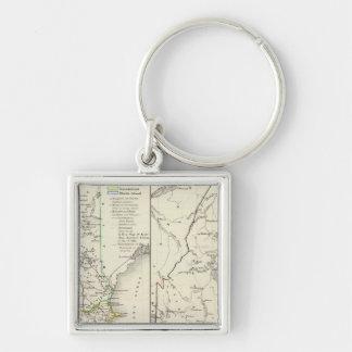 Vermont, New Hampshire, Massachusetts Llaveros Personalizados