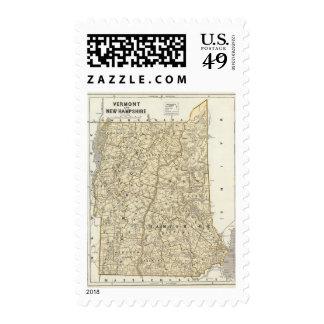 Vermont, New Hampshire Postage
