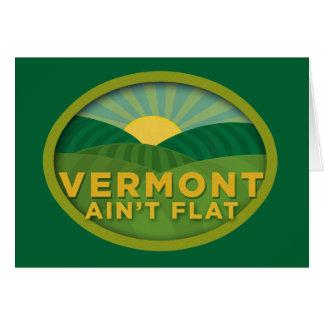 Vermont no es plano felicitacion