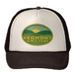 Vermont no es plano gorras de camionero