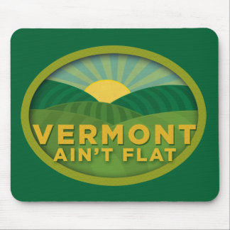 Vermont no es plano tapetes de raton