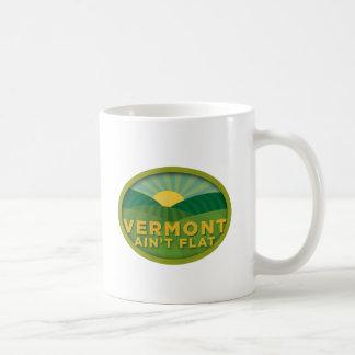 Vermont no es plano taza