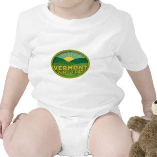 Vermont no es plano traje de bebé