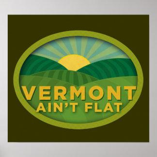 Vermont no es poster plano