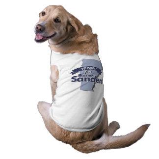 Vermont para las chorreadoras de Bernie Playera Sin Mangas Para Perro