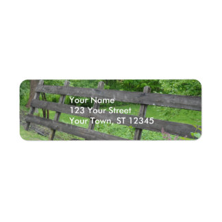 Vermont Picket Fence Label