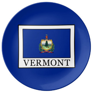 Vermont Porcelain Plate