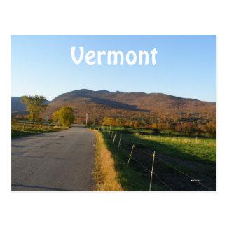 Vermont Post Card