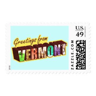 Vermont` Postage Stamp