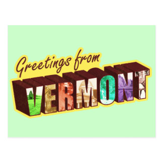 Vermont` Postcard