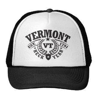 Vermont, puñetas sí, Est. 1791 Gorro