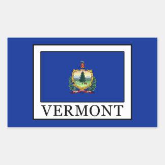 Vermont Rectangular Sticker