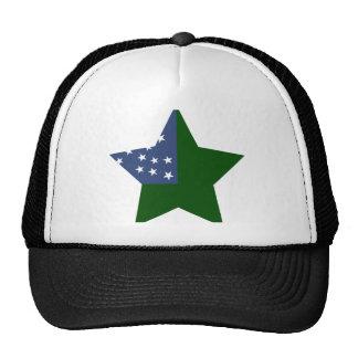 Vermont+Republic Star Hat