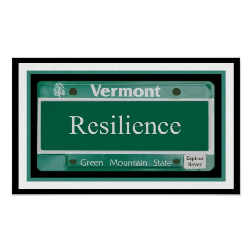 Vermont - Resilience.2 Impresiones