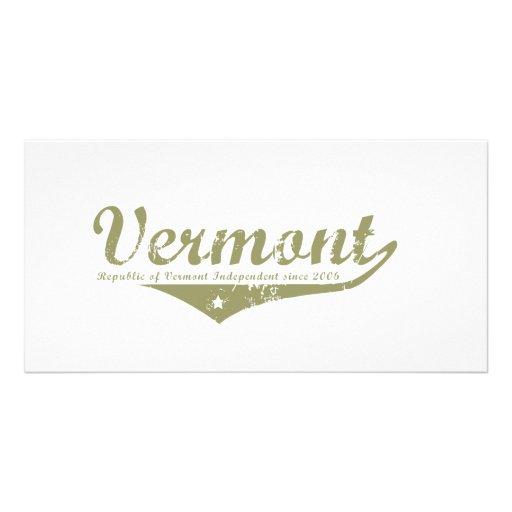 Vermont Revolution T-shirts Photo Greeting Card