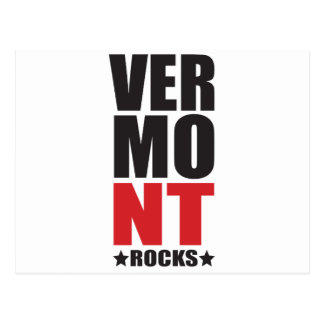 Vermont Rocks! State Spirit Gifts and Apparel Postcard