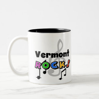 Vermont Rocks Two-Tone Coffee Mug