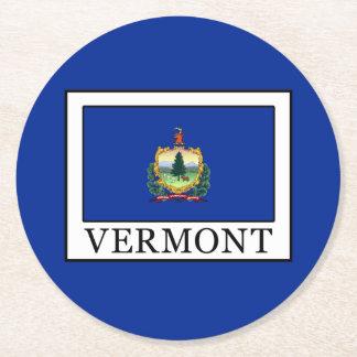 Vermont Round Paper Coaster