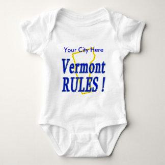 Vermont Rules ! Baby Bodysuit