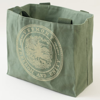 Vermont Seal Tote