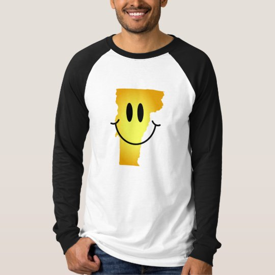 Vermont Smiley Face T-Shirt