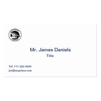 Vermont Snowbird Shield Business Card