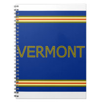 Vermont Spiral Notebook (80 Pages B&W)