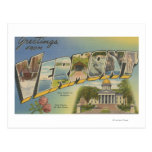 Vermont (State Capital/Flower) - Post Cards