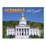 Vermont State Capitol building, Montpelier Post Card
