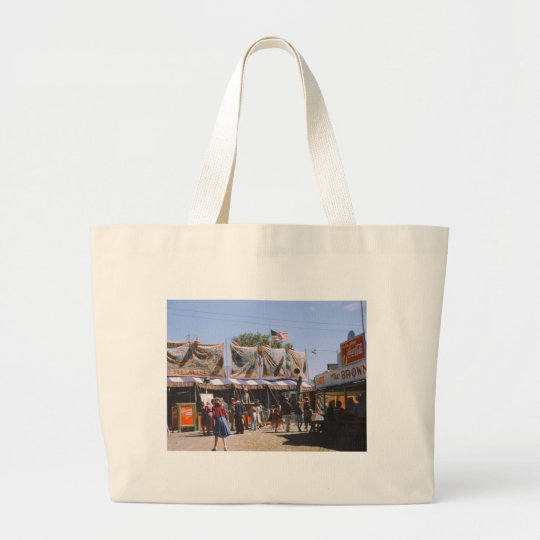 Vermont State Fair, 1941 Large Tote Bag