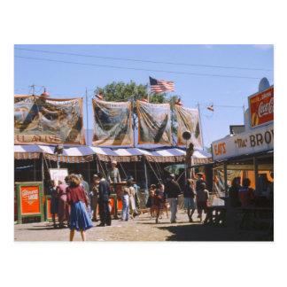 Vermont State Fair, 1941 Postcard
