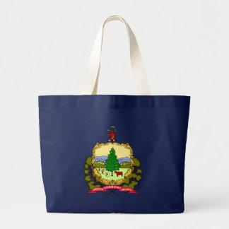 Vermont State Flag blue bag